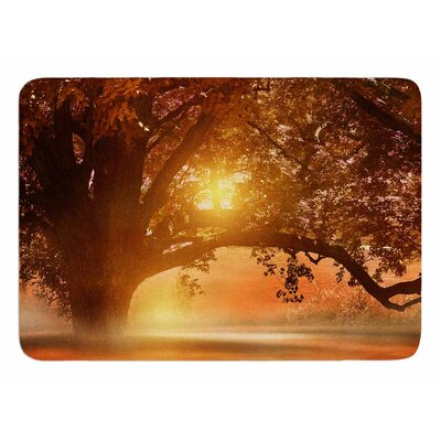 Romance in Autumn by Vivian Gonzalez Memory Foam Bath Mat