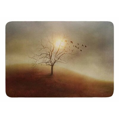 Lone Tree Love I by Vivian Gonzalez Memory Foam Bath Mat