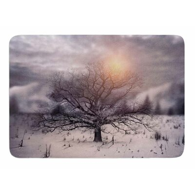 Lone Tree Love II by Vivian Gonzalez Memory Foam Bath Mat