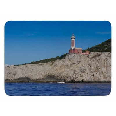 Happy Lighthouse by Violet Hudson Memory Foam Bath Mat