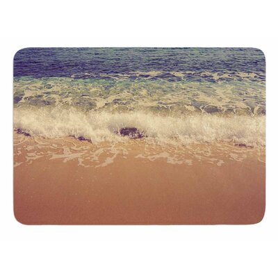 Crashing Waves by Violet Hudson Memory Foam Bath Mat