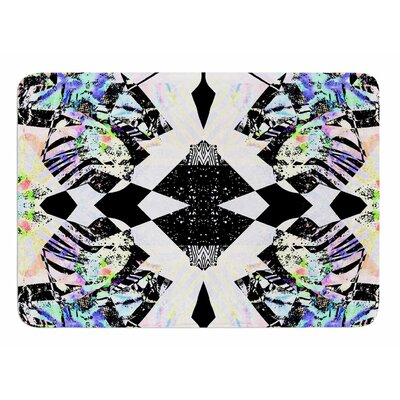 Abstract Zebra by Vascular Nat Memory Foam Bath Mat