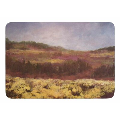 Field of Yellow by Cyndi Steen Memory Foam Bath Mat