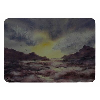 Crashing Waves by Cyndi Steen Memory Foam Bath Mat