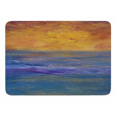 Sky on Fire by Cyndi Steen Memory Foam Bath Mat