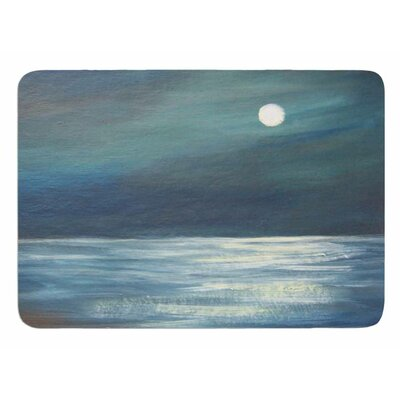 A Walk in the Moonlight by Cyndi Steen Memory Foam Bath Mat