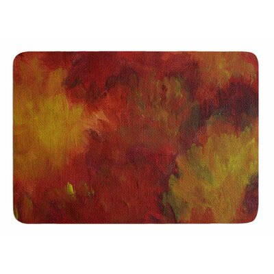 Winsosr Flower by Cyndi Steen Memory Foam Bath Mat
