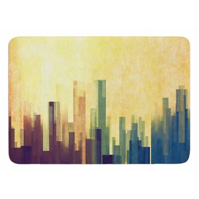 Cloud City by Cvetelina Todorova Memory Foam Bath Mat