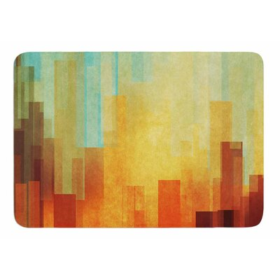 Urban Sunset by Cvetelina Todorova Memory Foam Bath Mat