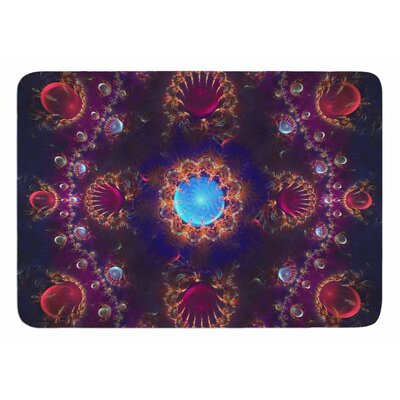 Royal Jewels by Cvetelina Todorova Memory Foam Bath Mat