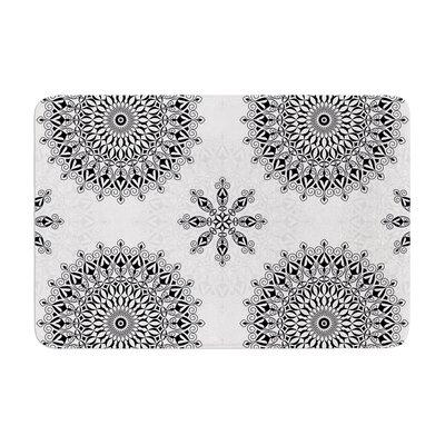 Mandala by Julia Grifol Memory Foam Bath Mat Size: 17 W x 24 L
