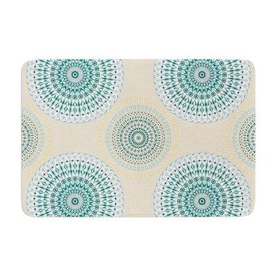 Soft Mandalas by Julia Grifol Memory Foam Bath Mat Size: 17 W x 24 L