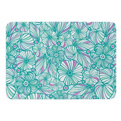 My Flowers by Julia Grifol Memory Foam Bath Mat