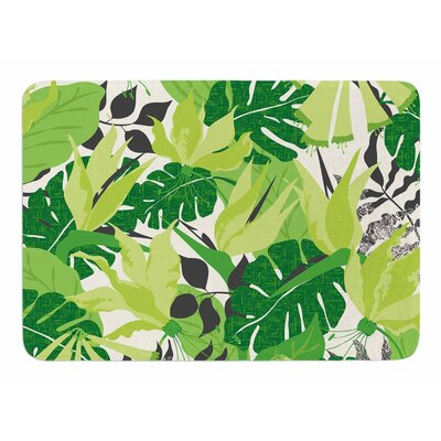 Tropicana - Green by Jacqueline Milton Memory Foam Bath Mat