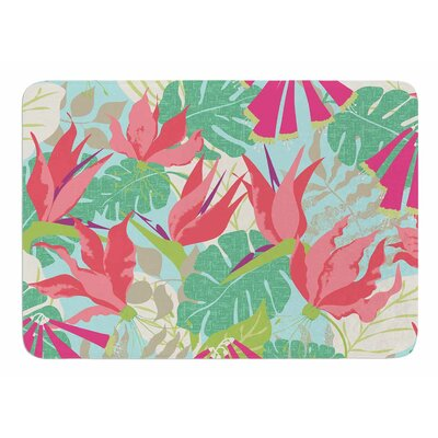 Tropicana - Sky by Jacqueline Milton Memory Foam Bath Mat