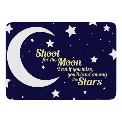 Moon and Stars Quote by NL Designs Memory Foam Bath Mat
