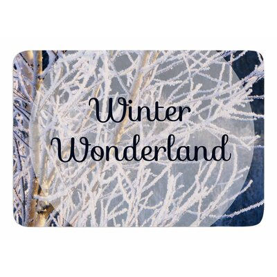 Winter Wonderland by NL Designs Memory Foam Bath Mat