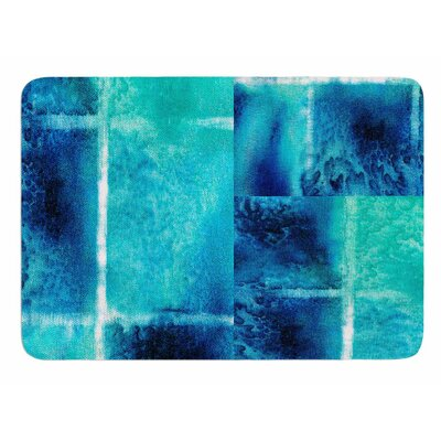 Saltwater Study by Nina May Memory Foam Bath Mat