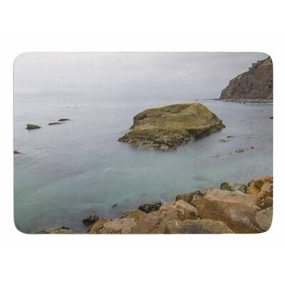 Rock Above Water by Nick Nareshni Memory Foam Bath Mat