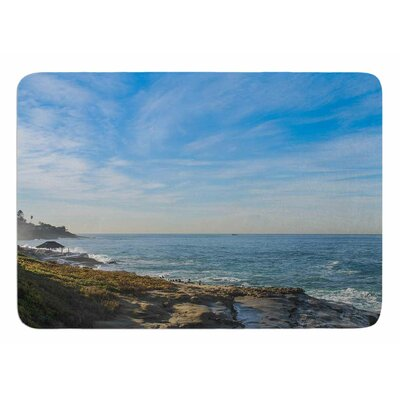 Sky Over the Ocean by Nick Nareshni Memory Foam Bath Mat