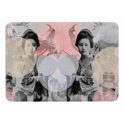 Kyoto Girl by Suzanne Carter Memory Foam Bath Mat