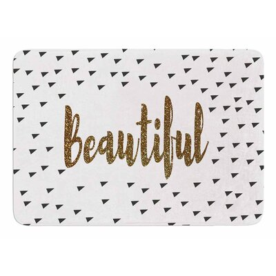 Beautiful by Suzanne Carter Memory Foam Bath Mat