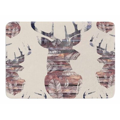 Wild and Free 2 by Suzanne Carter Memory Foam Bath Mat