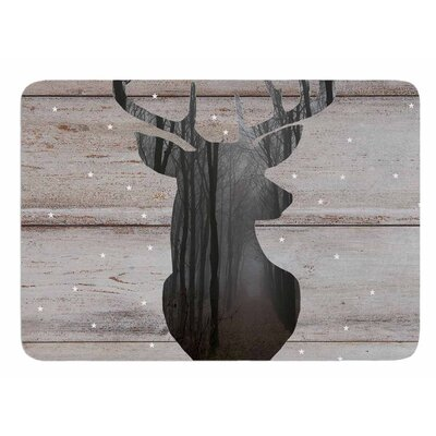 The Road - Woodgrain by Suzanne Carter Memory Foam Bath Mat
