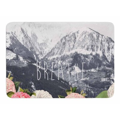 Breathe by Suzanne Carter Memory Foam Bath Mat