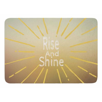 Rise and Shine by Suzanne Carter Memory Foam Bath Mat
