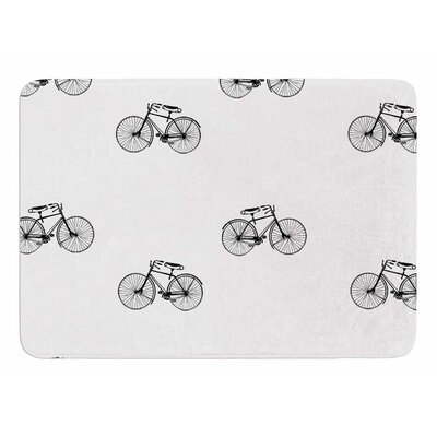Vintage Wheels by Suzanne Carter Memory Foam Bath Mat