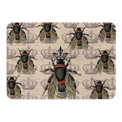 Queen Bee by Suzanne Carter Memory Foam Bath Mat