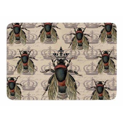 Queen Bee by Suzanne Carter Memory Foam Bath Mat