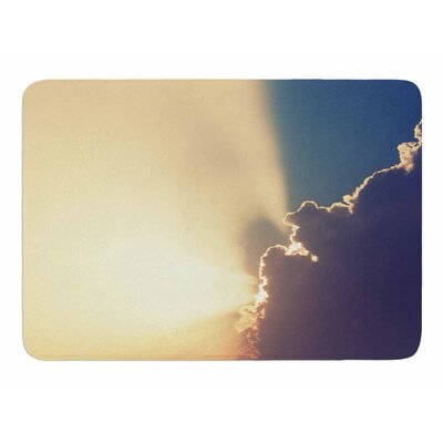 After the Storm by Cvetelina Todorova Memory Foam Bath Mat