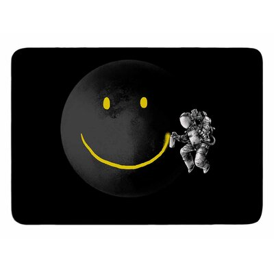 Make A Smile by Digital Carbine Memory Foam Bath Mat