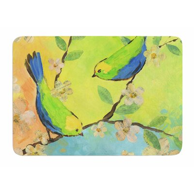 Song Birds by Jacqueline Milton Memory Foam Bath Mat