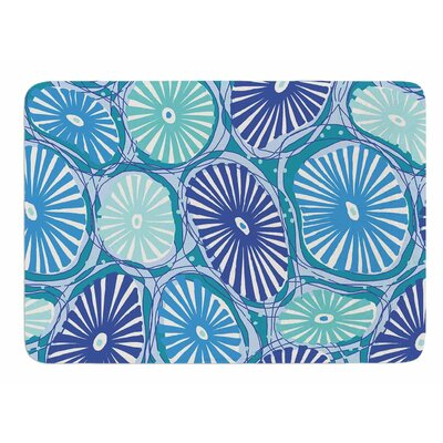 Sea Coral by Jacqueline Milton Memory Foam Bath Mat