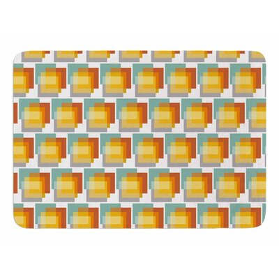 Geo1 by Juliana Motzko Memory Foam Bath Mat