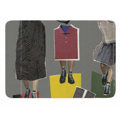 Fashion by Jina Ninjjaga Memory Foam Bath Mat