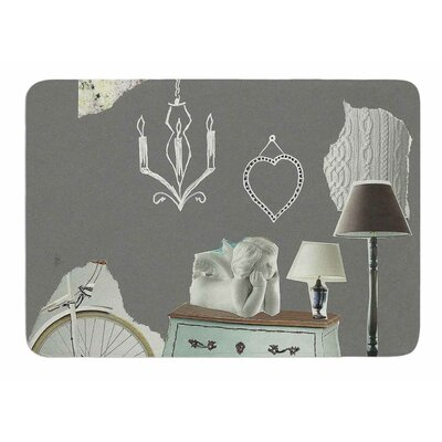 Decor by Jina Ninjjaga Memory Foam Bath Mat