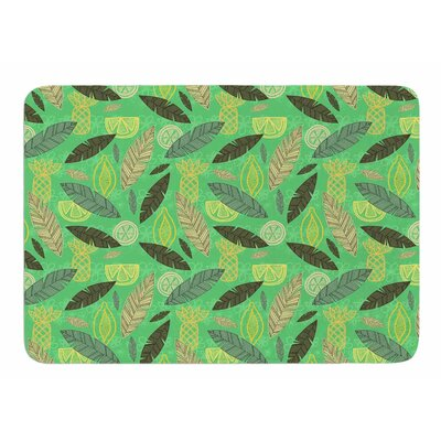 Tropical Fruits by Jane Smith Memory Foam Bath Mat