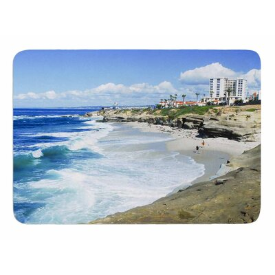 Beach Playground by Nick Nareshni Memory Foam Bath Mat