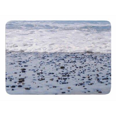 Solana Beach Sand Stones by Nick Nareshni Memory Foam Bath Mat