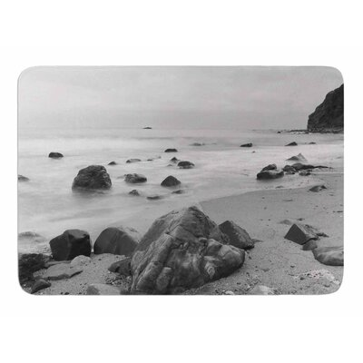 Water Moving Around Rocks by Nick Nareshni Memory Foam Bath Mat