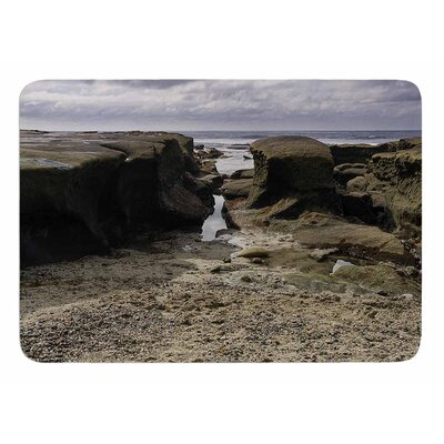 Stones Leading To Ocean by Nick Nareshni Memory Foam Bath Mat