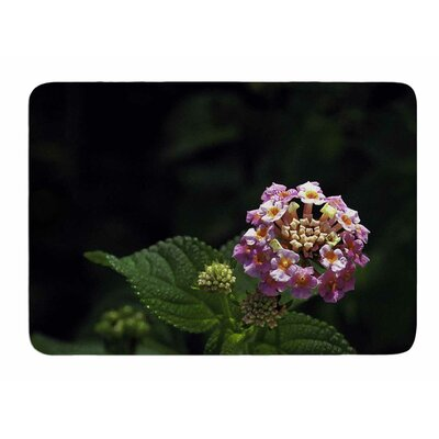 Lantana Flower by Nick Nareshni Memory Foam Bath Mat