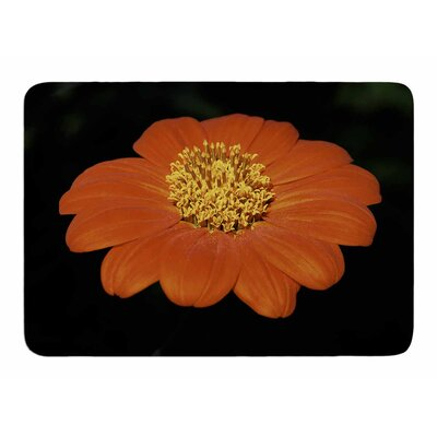 Open Wide Flower by Nick Nareshni Memory Foam Bath Mat