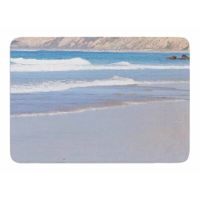 California Beach by Sylvia Comes Memory Foam Bath Mat