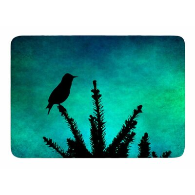 Bird Silhouette by Sylvia Comes Memory Foam Bath Mat