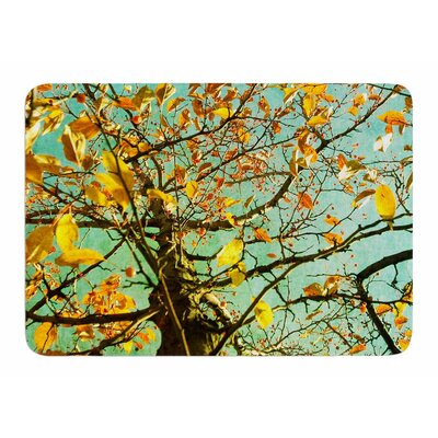Autumn Tree by Sylvia Comes Memory Foam Bath Mat